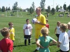 Coaching Youth Soccer U4 - U5 age groups - fun games