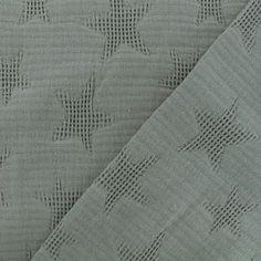 De coton petites pierres gris modestoffe Femmes substances Prix = 0,5 m