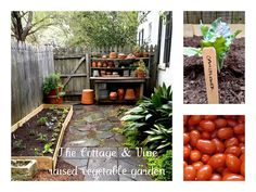 COTTAGE AND VINE: DIY Raised Vegetable Garden