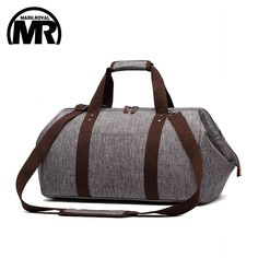 5023675a761da MARKROYAL Waterproof Travel Bag Large Capacity Carry On Luggage Bag  Business Hand Bag Big Opening Design Duffle Bags