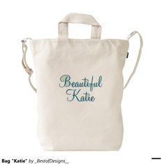 "Bag ""Katie"" Duck Canvas Bag"