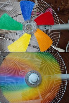 Awesome idea of Rainbow Fan - Raafatrola