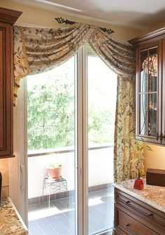 window treatment for large patio doors - Google Search