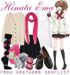 Brothers Conflict Fashion » Hinata Ema #brocon