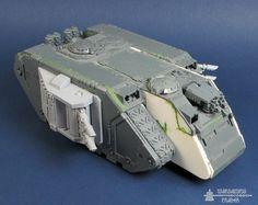 Space Marine Land Raider Spartan Conversion   The Wargaming Trader