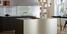 Simple and refined… the clean lines of a bulthaup b3 monoblock