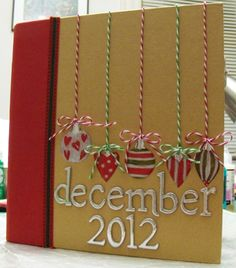 December Daily 2012 cover