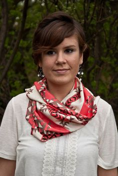 Aztec Tribal Infinity Scarf by TeakaMarie on Etsy, $25.00