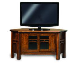 Artesa Corner Media Console - Amish Direct Furniture