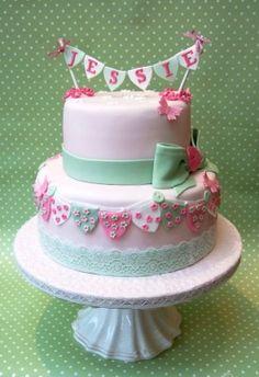 christening cake - Google Search