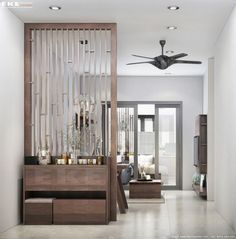 Marvelous Divide Room Decoration Ideas That Look More Comfort 01 - Raumteiler Living Room Partition Design, Living Room Divider, Room Divider Walls, Room Partition Designs, Living Room Drapes, Partition Ideas, Room Partition Wall, Living Rooms, Metal Room Divider