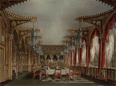 Gothic Dining Room, Carlton House.