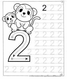 New System-Suitable Numbers Line Study - Preschool Children Akctivitiys Preschool Number Worksheets, Preschool Writing, Numbers Preschool, Preschool Learning Activities, Preschool Lessons, Kids Worksheets, Math For Kids, Alaia, Wall Photos