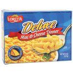 Loretta Deluxe Macaroni & Cheese Dinners, 8-oz. Boxes