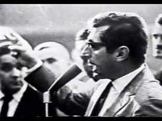 Auro de Moura Andrade declara vaga a Presidencia em 1964