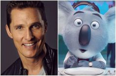 A Koala named Buster Moon (Matthew McConaughey) is the main character of the movie Sing.