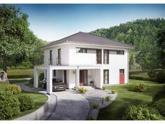 Innovation R - Haus R140_2_V26 - #Einfamilienhaus von RENSCH-HAUS GMBH | HausXXL #Stadtvilla #mediterran #Walmdach
