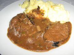 Jelenie stehno pečené v rúre - Recept Beef, Cooking, Meat, Steak