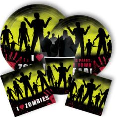 zombie party pack. want to get this for my husband's birthday
