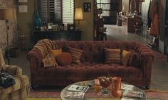 Millie's (Mandy Moore's) apartment in Because I Said So.