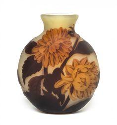 Émile Gallé   A Muller Freres Cameo Glass Vase.