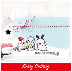 Fussy cutting allows for elements to be layered and overlapped without the white edge you get when using dies. Find out more by clicking the following link: http://limedoodledesign.com/2015/09/fussy-cutting/