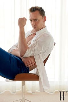 Tom Hiddleston went shirtless in his boxers for the latest issue of 'W' magazine — see why even Taylor Swift couldn't refuse his hotness here!