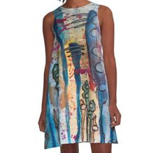 http://www.redbubble.com/people/bestree/works/20801706-unidentified-plant-life?p=a-line-dress&rel=carousel.  $65