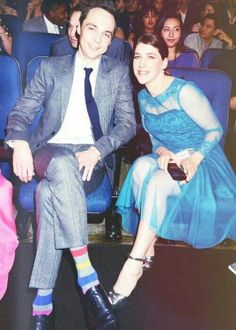 Jim Parsons and Mayim Bialik at the People's Choice Awards The Big Band Theory, Big Bang Theory, Cbs Tv Shows, Movies And Tv Shows, Sheldon Amy, Johnny Galecki, Mayim Bialik, Jim Parsons, The Fault In Our Stars