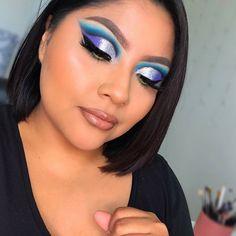 Maquillage Cut Crease, Makeup Looks, Halloween Face Makeup, Base, Professional Makeup, Night Makeup, Colorful Eye Makeup, Smoked Eyes, Makeup Tutorials