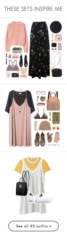 """""""THESE SETS INSPIRE ME"""" by feels-like-snow-in-september ❤ liked on Polyvore featuring Miss Selfridge, MANGO, H&M, The Row, Fujifilm, Chanel, Lomography, Ole Mathiesen, Dolce&Gabbana and Monki"""