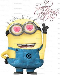 Happy Valentine's Day Minions pictures of the hour (10:18:17 PM, Wednesday 10, February 2016 PST) – 20 pics