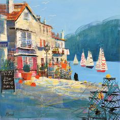 Ferry Slipway, Dartmouth by Mike Bernard
