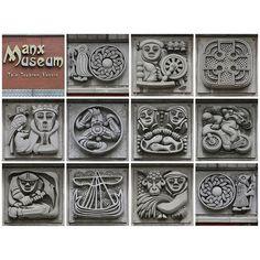 Manx Museum symbols