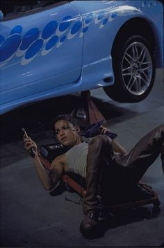 Michelle Rodriguez in The Fast and the Furious (2001)