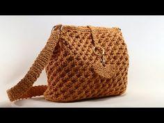 MUHTEŞEM! Kağıt ipten Deniz Yıldızı Modeli Çanta Ördüm - YouTube Crochet, Bags, Totes, Crochet Hooks, Handbags, Lv Bags, Hand Bags, Crocheting, Chrochet