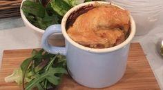 John Whaite's chicken and cider pot pies