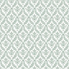 Green Damask | Download our Green Damask wall paper for your scrapbook!
