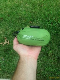 """""""After testing the Cocoon UltraLight AirCore Pillow , I will never go back to a stuff sack pillow"""" --@Erin Stockdill Backpackers #gear"""