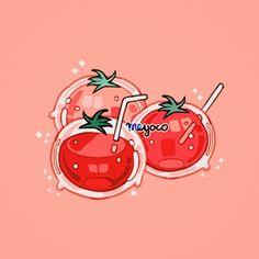 "38.6k Likes, 106 Comments - meyoコ (@meyoco) on Instagram: ""Tomato juice"""