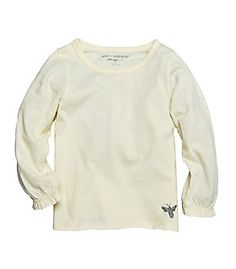 Kids Long Sleeve Tee<br>in 100% Organic Cotton</br>