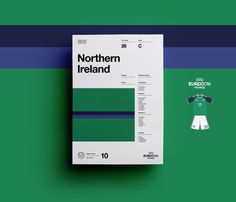 Last week I posted a beautiful set of posters created by Sean Ford for the UEFA EURO 2016.