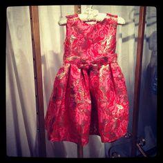 Our best-selling #damask #dress @childrensclub #newyork
