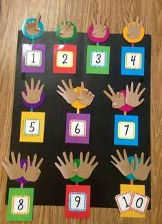 Number board 1-10