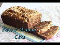 Date & Walnut Cake