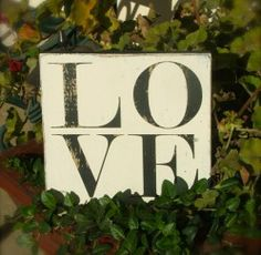 LOVE Sign - Vinyl Wall Decals & Stickers