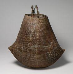 The Metropolitan Museum of Art - Basket (Jawun) Bamboo Weaving, Weaving Art, Basket Weaving, Wire Basket, Sisal, Natural Weave, Aboriginal Art, Tribal Art, Metropolitan Museum