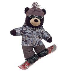 Snowboard Style Midnight Teddy - Build-A-Bear Workshop US