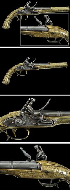 A flintlock pistol   dating: second quarter of the 19th Century   provenance: Balkans
