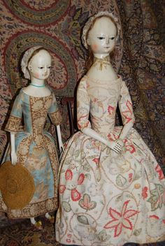 """18h century Dresses 